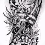 Примеры эскизов для тату узоров - картинка - tatufoto.ru - 54