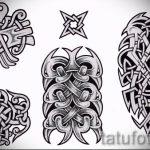Примеры эскизов для тату узоров - картинка - tatufoto.ru - 60