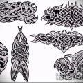 Примеры эскизов для тату узоров - картинка - tatufoto.ru - 61