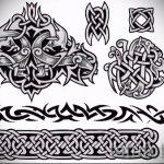 Примеры эскизов для тату узоров - картинка - tatufoto.ru - 66