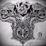 Примеры эскизов для тату узоров - картинка - tatufoto.ru - 69