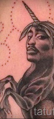 Пример фото с классной тату единорог для статьи про значение тату 1