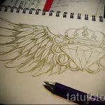 Пример эскиза для татуировки бриллиант - вариант - tatufoto.ru 17