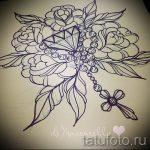 Пример эскиза для татуировки бриллиант - вариант - tatufoto.ru 34