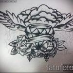 Пример эскиза для татуировки бриллиант - вариант - tatufoto.ru 36