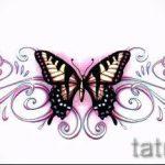 Пример эскиза для тату на пояснице - вариант - tatufoto.ru - 5