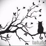 Пример эскиза для тату на пояснице - вариант - tatufoto.ru - 7