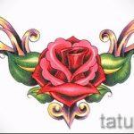 Пример эскиза для тату на пояснице - вариант - tatufoto.ru - 9