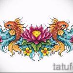 Пример эскиза для тату на пояснице - вариант - tatufoto.ru - 12