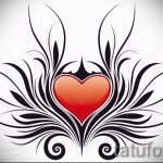 Пример эскиза для тату на пояснице - вариант - tatufoto.ru - 13