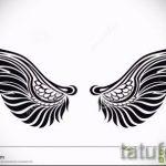 Пример эскиза для тату на пояснице - вариант - tatufoto.ru - 18