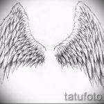 Пример эскиза для тату на пояснице - вариант - tatufoto.ru - 19