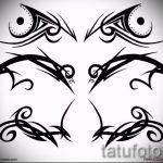 Пример эскиза для тату на пояснице - вариант - tatufoto.ru - 20