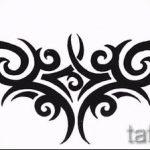 Пример эскиза для тату на пояснице - вариант - tatufoto.ru - 21