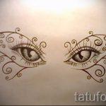 Пример эскиза для тату на пояснице - вариант - tatufoto.ru - 30