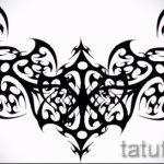 Пример эскиза для тату на пояснице - вариант - tatufoto.ru - 31