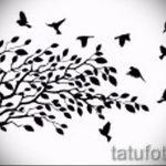 Пример эскиза для тату на пояснице - вариант - tatufoto.ru - 36