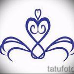 Пример эскиза для тату на пояснице - вариант - tatufoto.ru - 38