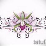 Пример эскиза для тату на пояснице - вариант - tatufoto.ru - 39