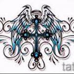 Пример эскиза для тату на пояснице - вариант - tatufoto.ru - 40