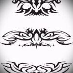 Пример эскиза для тату на пояснице - вариант - tatufoto.ru - 41
