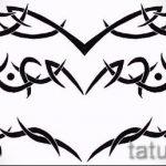 Пример эскиза для тату на пояснице - вариант - tatufoto.ru - 43