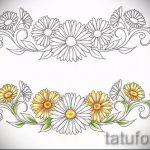 Пример эскиза для тату на пояснице - вариант - tatufoto.ru - 51