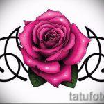 Пример эскиза для тату на пояснице - вариант - tatufoto.ru - 60