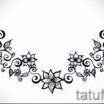 Пример эскиза для тату на пояснице - вариант - tatufoto.ru - 61