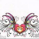Пример эскиза для тату на пояснице - вариант - tatufoto.ru - 63
