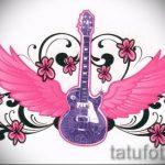 Пример эскиза для тату на пояснице - вариант - tatufoto.ru - 65