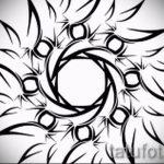 Пример эскиза для тату на пояснице - вариант - tatufoto.ru - 66