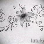 Пример эскиза для тату на пояснице - вариант - tatufoto.ru - 67