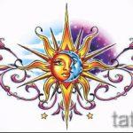 Пример эскиза для тату на пояснице - вариант - tatufoto.ru - 69