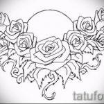 Пример эскиза для тату на пояснице - вариант - tatufoto.ru - 71