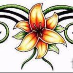 Пример эскиза для тату на пояснице - вариант - tatufoto.ru - 73