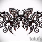Пример эскиза для тату на пояснице - вариант - tatufoto.ru - 75