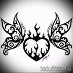 Пример эскиза для тату на пояснице - вариант - tatufoto.ru - 76