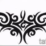 Пример эскиза для тату на пояснице - вариант - tatufoto.ru - 79