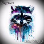 Пример эскиза тату энот для нанесения татуировки - tatufoto.ru - 1
