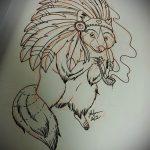 Пример эскиза тату энот для нанесения татуировки - tatufoto.ru - 5