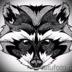 Пример эскиза тату энот для нанесения татуировки - tatufoto.ru - 6