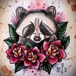 Пример эскиза тату энот для нанесения татуировки - tatufoto.ru - 9