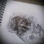 Пример эскиза тату энот для нанесения татуировки - tatufoto.ru - 15