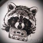 Пример эскиза тату энот для нанесения татуировки - tatufoto.ru - 21