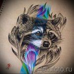 Пример эскиза тату энот для нанесения татуировки - tatufoto.ru - 22
