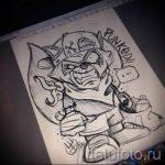 Пример эскиза тату энот для нанесения татуировки - tatufoto.ru - 23