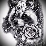 Пример эскиза тату энот для нанесения татуировки - tatufoto.ru - 26