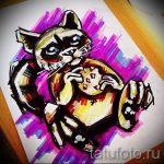 Пример эскиза тату энот для нанесения татуировки - tatufoto.ru - 27