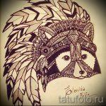 Пример эскиза тату энот для нанесения татуировки - tatufoto.ru - 29